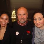 From left: Issa, organiser of Malaysia, Tore, founder of GBOB and Natalia, organiser of Russia