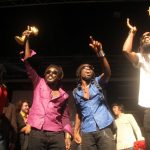 DUBTONIC KRU, happy winners from Jamaica