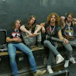 Vorbid (Norway) relaxing before sound check