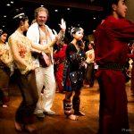Strange dancing by TV man Ewald Eilertsen