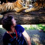 The good news for Jas Morris, front man in FIREKIND, the tigers had breakfast before bands arrived