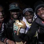 The winners from Jamaica, DI BLUEPRINT